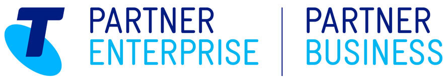 Telstra business partner logo