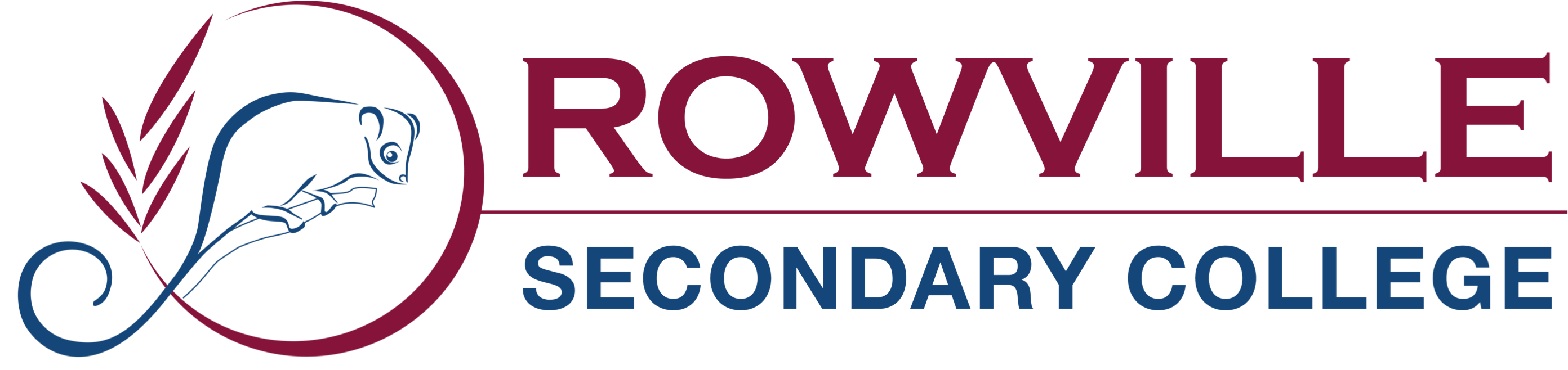 Rowville Secondary College logo